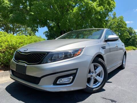 2014 Kia Optima for sale at William D Auto Sales in Norcross GA