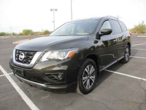 2017 Nissan Pathfinder for sale at Corporate Auto Wholesale in Phoenix AZ