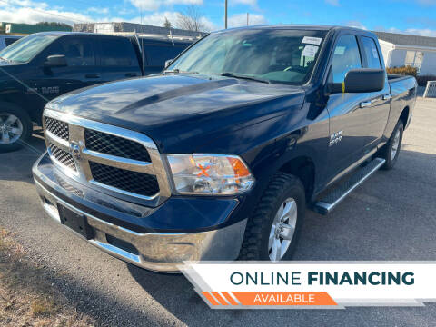 2016 RAM Ram Pickup 1500 for sale at Strait-A-Way Auto Sales LLC in Gaylord MI