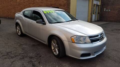 2012 Dodge Avenger for sale at 216 Automotive Group in Cleveland OH