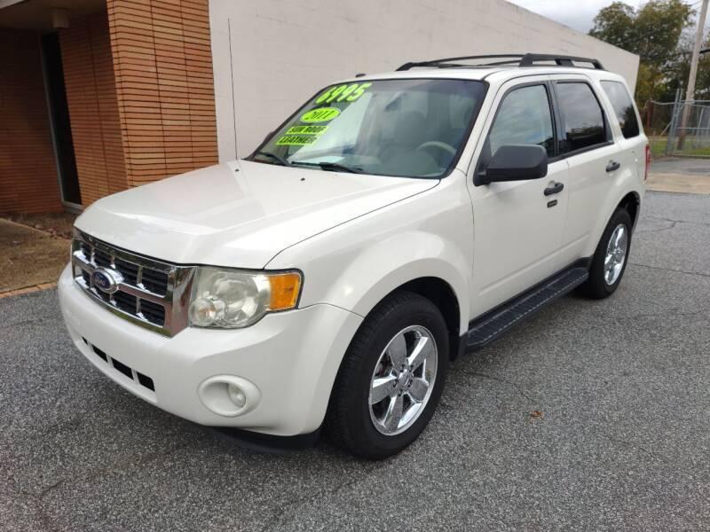 2011 Ford Escape for sale at DON BAILEY AUTO SALES in Phenix City AL
