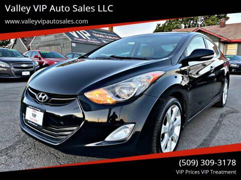 2012 Hyundai Elantra for sale at Valley VIP Auto Sales LLC - Valley VIP Auto Sales - E Sprague in Spokane Valley WA
