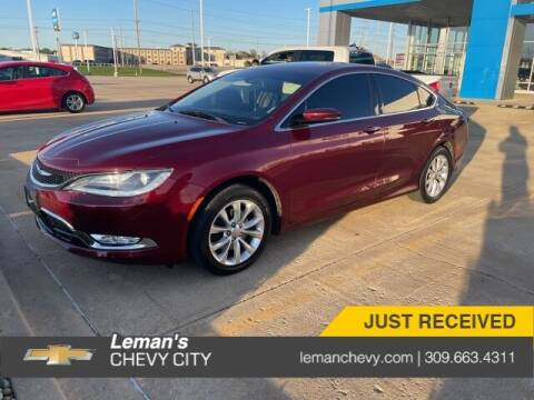 2016 Chrysler 200 for sale at Leman's Chevy City in Bloomington IL