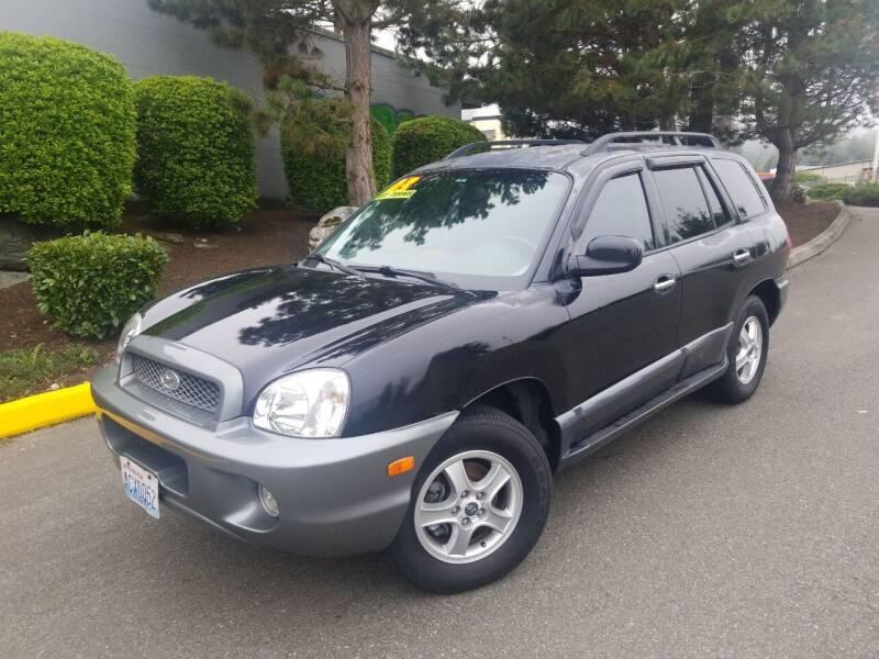 2003 Hyundai Santa Fe for sale at SS MOTORS LLC in Edmonds WA