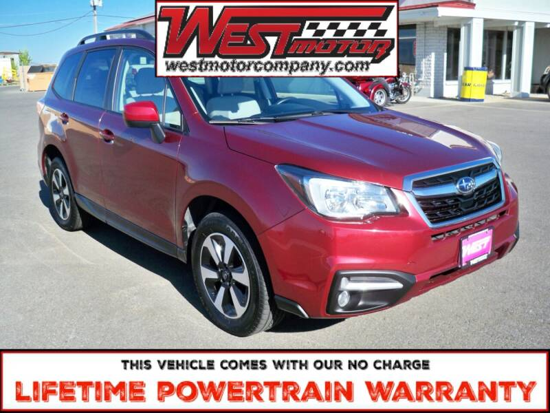 2017 Subaru Forester for sale at West Motor Company in Hyde Park UT