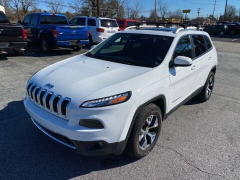 2016 Jeep Cherokee for sale at Brewster Used Cars in Anderson SC