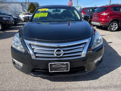 2013 Nissan Altima for sale at Cape Cod Cars & Trucks in Hyannis MA