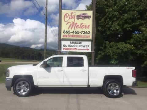 2017 Chevrolet Silverado 1500 for sale at City Motors in Mascot TN