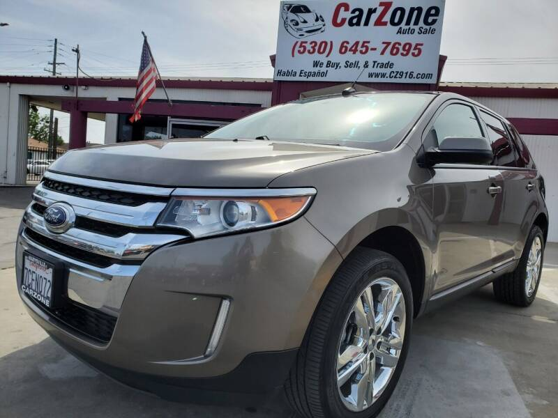 2013 Ford Edge for sale at CarZone in Marysville CA