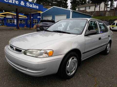 2000 Toyota Corolla for sale at Shoreline Family Auto Care And Sales in Shoreline WA