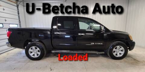 2007 Nissan Titan for sale at Ubetcha Auto in St. Paul NE
