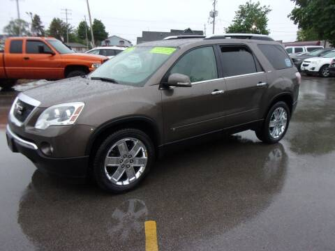2010 GMC Acadia for sale at Ideal Auto Sales, Inc. in Waukesha WI