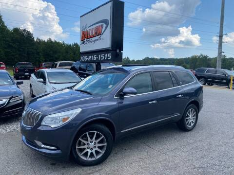2014 Buick Enclave for sale at Billy Ballew Motorsports in Dawsonville GA