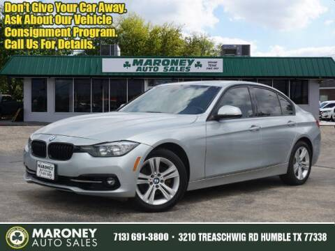 2016 BMW 3 Series for sale at Maroney Auto Sales in Humble TX