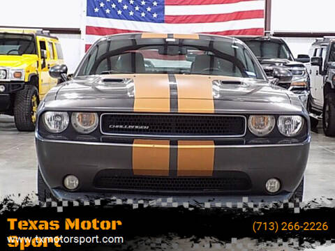 2013 Dodge Challenger for sale at Texas Motor Sport in Houston TX