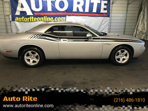2010 Dodge Challenger for sale at Auto Rite in Bedford Heights OH