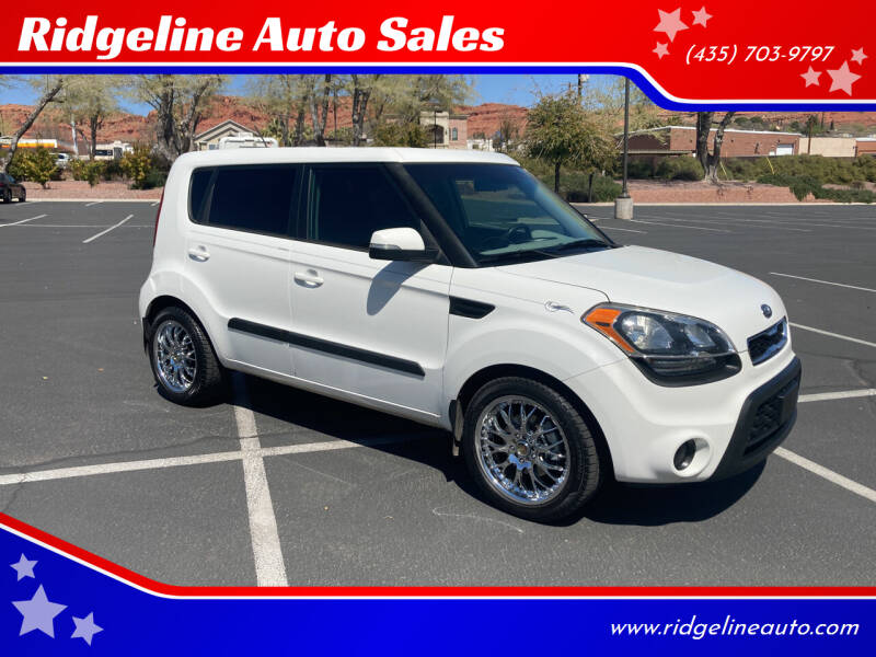 2012 Kia Soul for sale at Ridgeline Auto Sales in Saint George UT