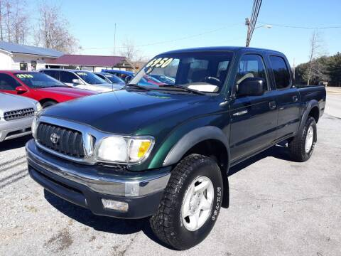2001 Toyota Tacoma for sale at Rocket Center Auto Sales in Mount Carmel TN