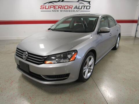 2014 Volkswagen Passat for sale at Superior Auto Sales in New Windsor NY