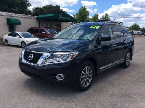2013 Nissan Pathfinder for sale at OASIS PARK & SELL in Spring TX