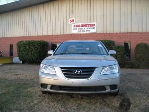 2009 Hyundai Sonata for sale at Unlimited Auto Sales & Detailing, LLC in Windsor Locks CT