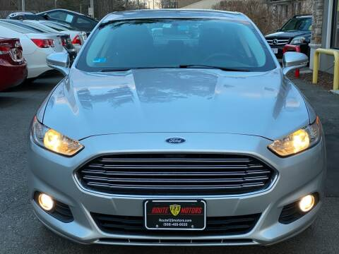 2016 Ford Fusion for sale at Route 123 Motors in Norton MA