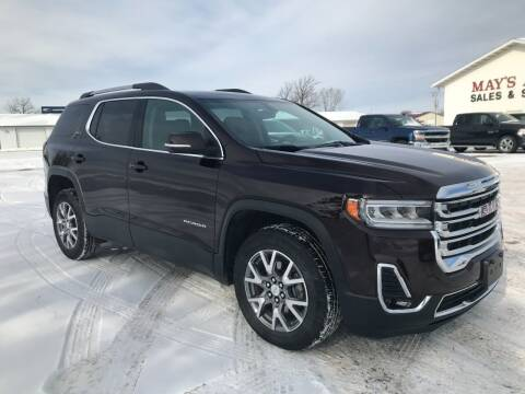 2020 GMC Acadia for sale at Mays Auto Sales and Service in Stanley WI