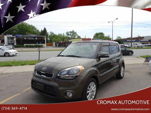 2012 Kia Soul for sale at Cromax Automotive in Ann Arbor MI