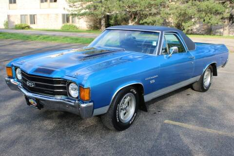 1972 Chevrolet El Camino for sale at Great Lakes Classic Cars & Detail Shop in Hilton NY