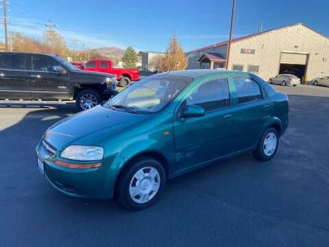 2004 Chevrolet Aveo for sale at Auto Image Auto Sales in Pocatello ID