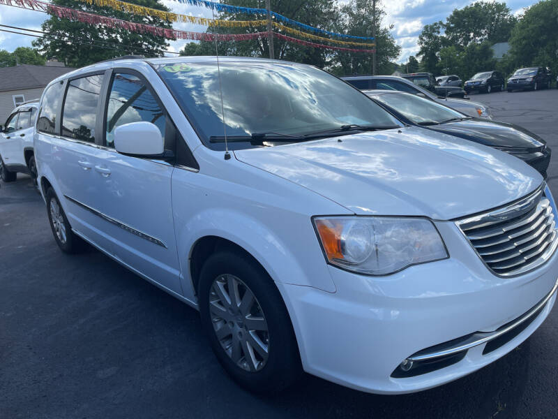 2016 Chrysler Town and Country for sale at Auto Exchange in The Plains OH