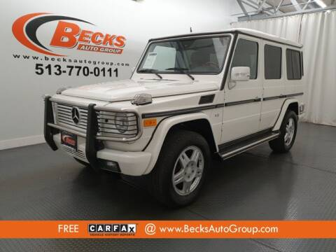 2004 Mercedes-Benz G-Class for sale at Becks Auto Group in Mason OH