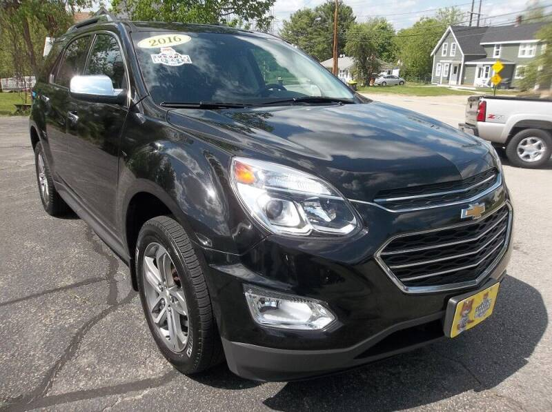 2016 Chevrolet Equinox for sale at Metro West Auto in Bellingham MA