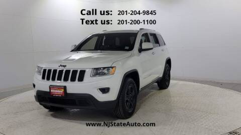 2016 Jeep Grand Cherokee for sale at NJ State Auto Used Cars in Jersey City NJ