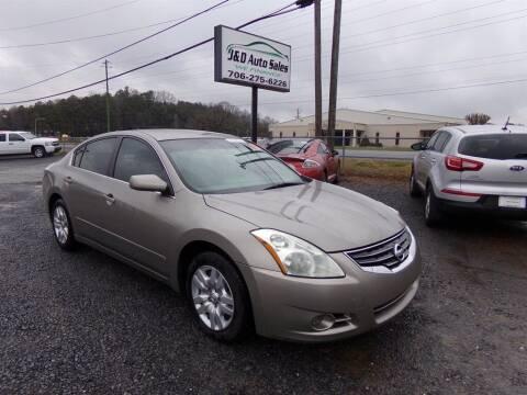 2011 Nissan Altima for sale at J & D Auto Sales in Dalton GA