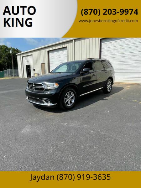 2014 Dodge Durango for sale at AUTO KING in Jonesboro AR
