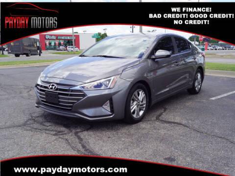 2020 Hyundai Elantra for sale at Payday Motors in Wichita KS