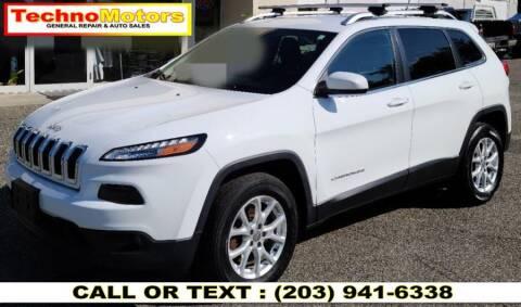 2015 Jeep Cherokee for sale at Techno Motors in Danbury CT