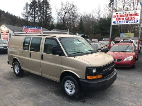 2006 Chevrolet Express Cargo for sale at INTERNATIONAL AUTO SALES LLC in Latrobe PA