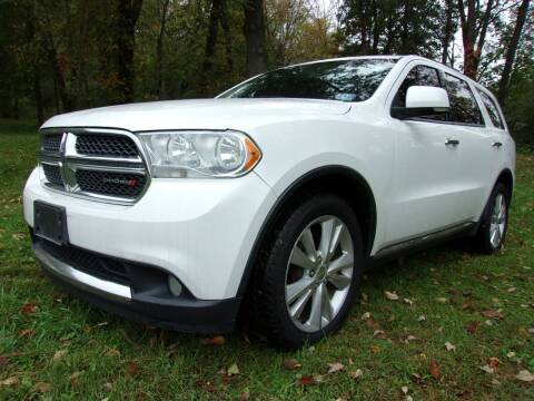 2013 Dodge Durango for sale at Sussex County Auto Exchange in Wantage NJ