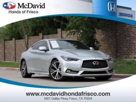 2018 Infiniti Q60 for sale at DAVID McDAVID HONDA OF IRVING in Irving TX