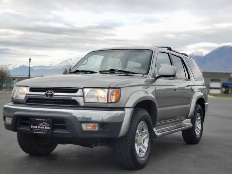 2002 Toyota 4Runner for sale at FRESH TREAD AUTO LLC in Springville UT