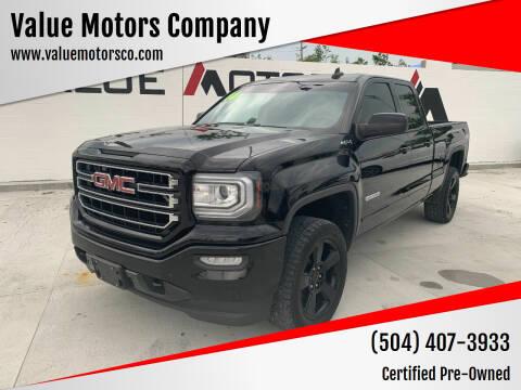 2016 GMC Sierra 1500 for sale at Value Motors Company in Marrero LA