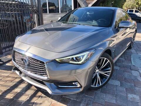 2017 Infiniti Q60 for sale at Unique Motors of Tampa in Tampa FL