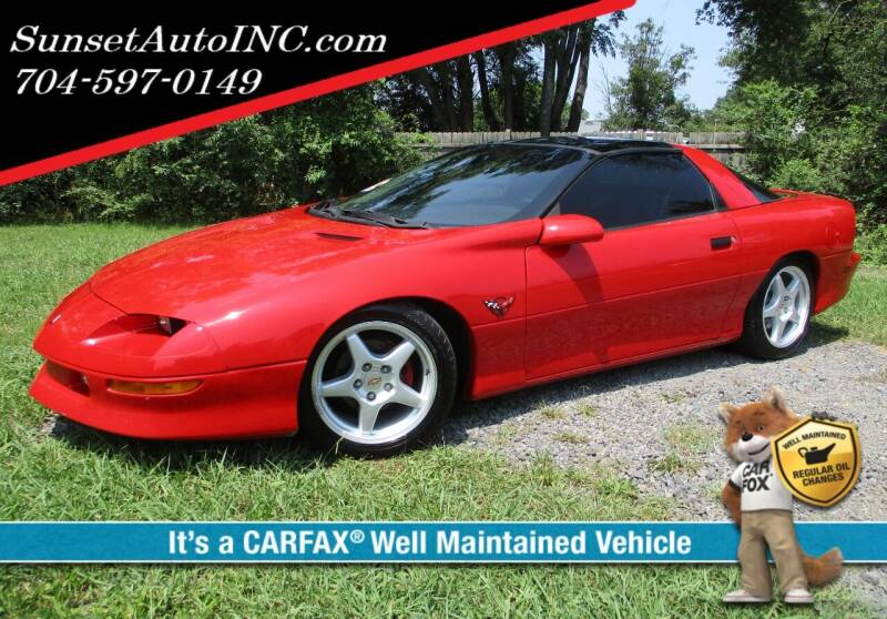 1995 Chevrolet Camaro for sale at Sunset Auto in Charlotte NC