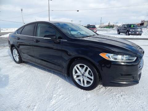 2015 Ford Fusion for sale at West Motor Company - West Motor Ford in Preston ID