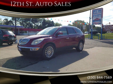 2010 Buick Enclave for sale at 12th St. Auto Sales in Canton OH
