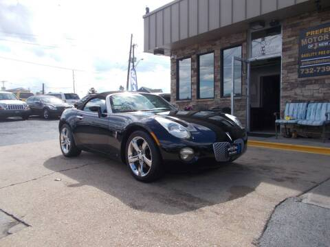 2007 Pontiac Solstice for sale at Preferred Motor Cars of New Jersey in Keyport NJ