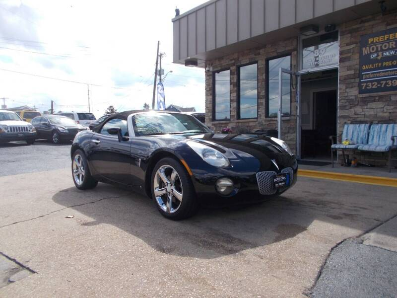 2007 Pontiac Solstice for sale at Preferred Motor Cars of New Jersey in Keyport NJ