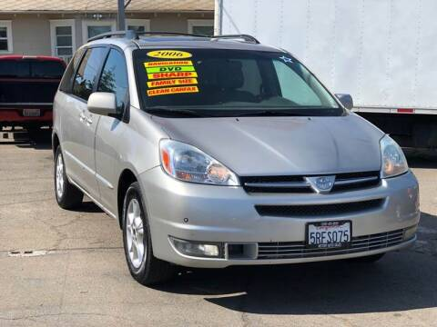 2005 Toyota Sienna for sale at Victory Auto Sales in Stockton CA